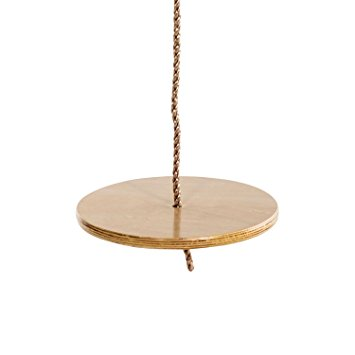 The Wooden Round Swing Seat
