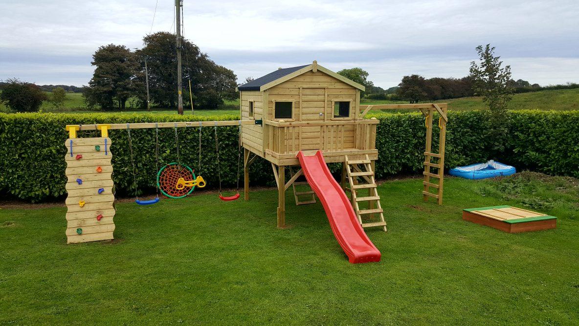 Just Fun Playtowers  Play Towers, Swings, Slides